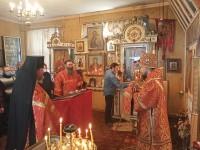 Престольный праздник в обители «Нечаянная Радость»