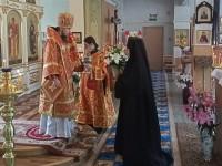 Литургия в женском монастыре