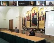 Руководитель информационного отдела епархии приняла участие во встрече с председателем профильного Синодального отдела в рамках Международных образовательных чтений