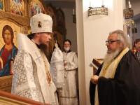 В день памяти святых отцев I Вселенского собора архиепископ Феодор совершил Литургию в Морском соборе