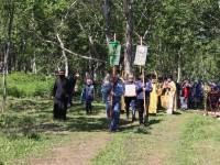 Престольный праздник в Всехсвятском скиту мужского монастыря