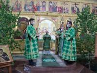 В праздник Святой Троицы архиепископ Феодор совершил Литургию в Кафедральном соборе.