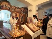В праздник Вознесения Господня Архиепископ Феодор совершил Литургию в Морском соборе