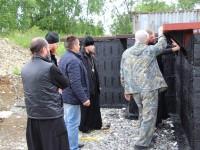 Архиепископ Феодор провел рабочее совещание по строительству храма в п. Раздольный
