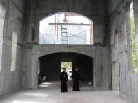 Архиепископ Феодор посетил строящиеся храмы Елизовского района