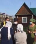 Глава епархии посетил п. Козыревск