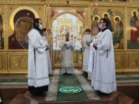 Литургия в день Собора Cоловецких святых