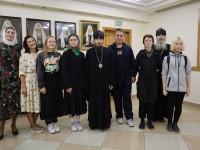 Архиепископ Феодор встретился с представителями Камчатского края, которые отправляются на молодежный форум «Андреевский городок»