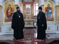 Литургия в праздник прп. Серафима Саровского