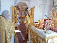 Архиепископ Феодор совершил Литургию в день святого пророка Илии
