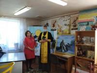 Состоялось встреча настоятеля храма поселка Палана с сотрудниками Центра Народного Творчества