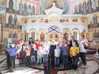 Для воспитанников Санаторной школы-интерната была проведена экскурсия, посвященная 167-й годовщине защиты Петропавловского порта от англо-французской эскадры