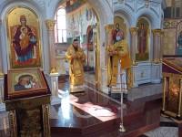 Литургия в праздник святителя Иоасафа Белгородского