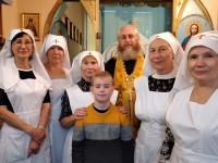 В часовне при онкоцентре совершена Божественная литургия