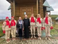 Представители епархии приняли участие в праздновании 280-летия Командорских островов