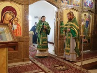 Божественная литургия в день памяти преподобного Амвросия Оптинского