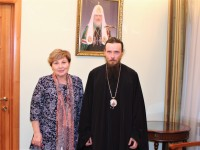 Архиепископ Феодор встретился с председателем Законодательного собрания Камчатского края