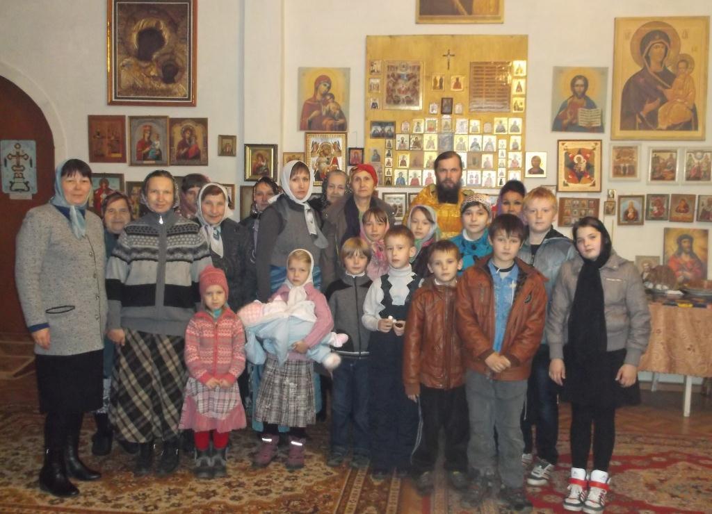 19 октября в п.Ключи состоялось открытие Воскресной школы