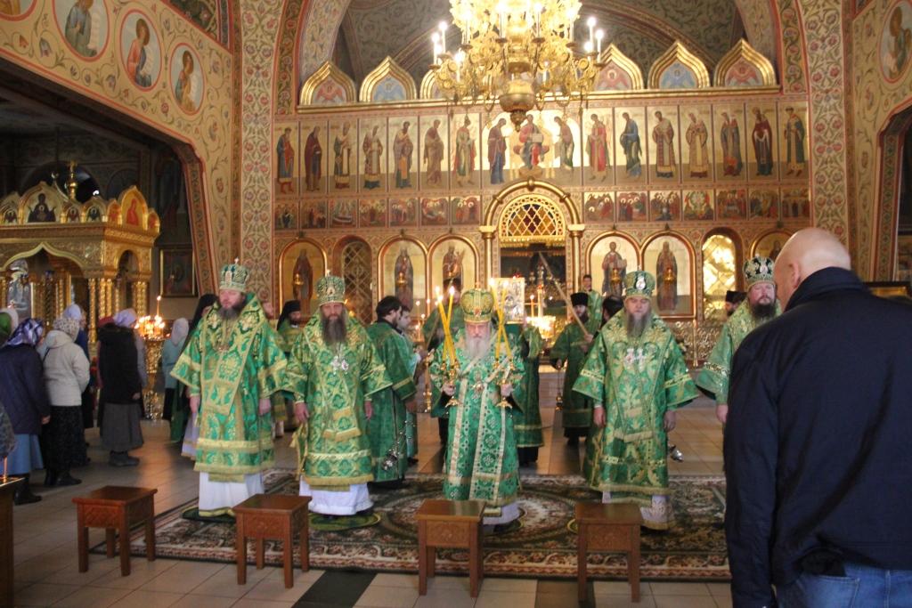 Служение епископа Артемия в Гефсиманском скиту г.Сергиева-Посада