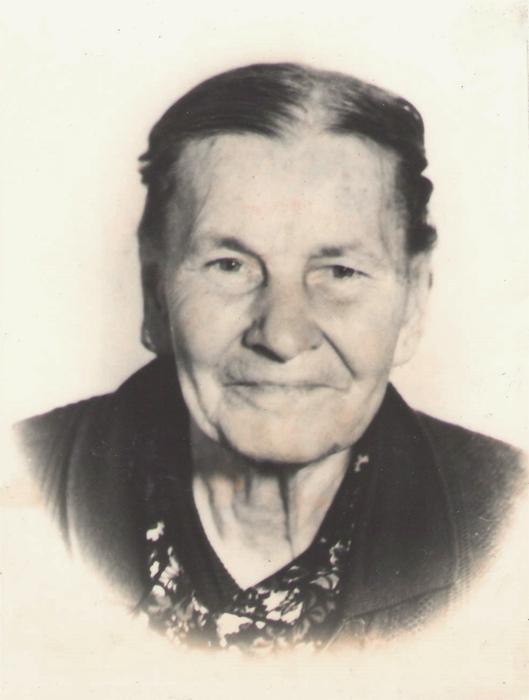 Е.М. Мокшанова. Предположительно 1981 год