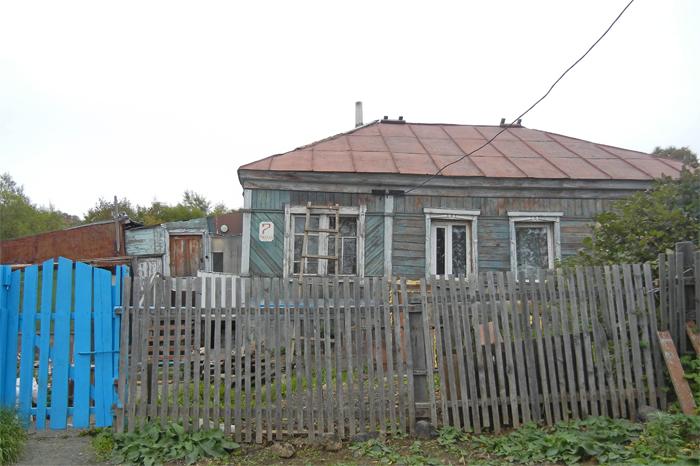 Дом на улице Рабочая, где жила семья Евдокии Михайловны . Именно тут собирались люди на совместные молитвы в 50-е - 70-е годы XX века.
