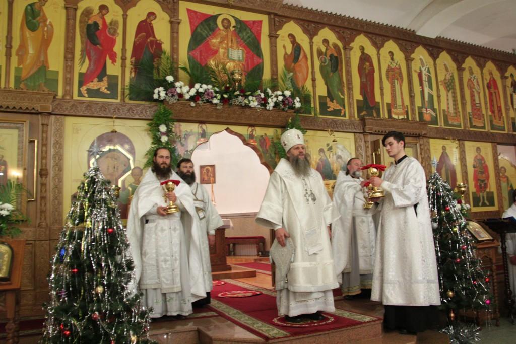Рождественское Богослужение в Кафедральном соборе г. Петропавловска-Камчатского
