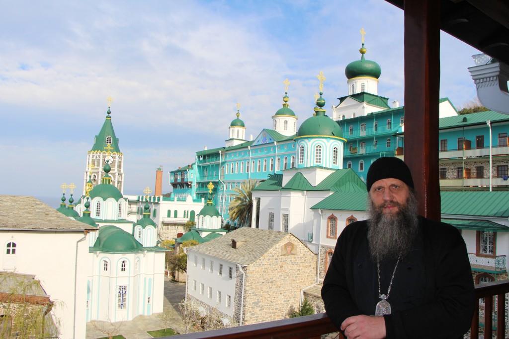 в Пантелеимоновом монастыре