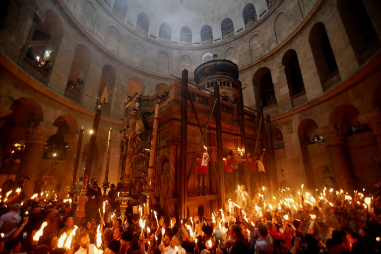 ISRAEL-PALESTINIAN-RELIGION-CHRISTIANITY-EASTER