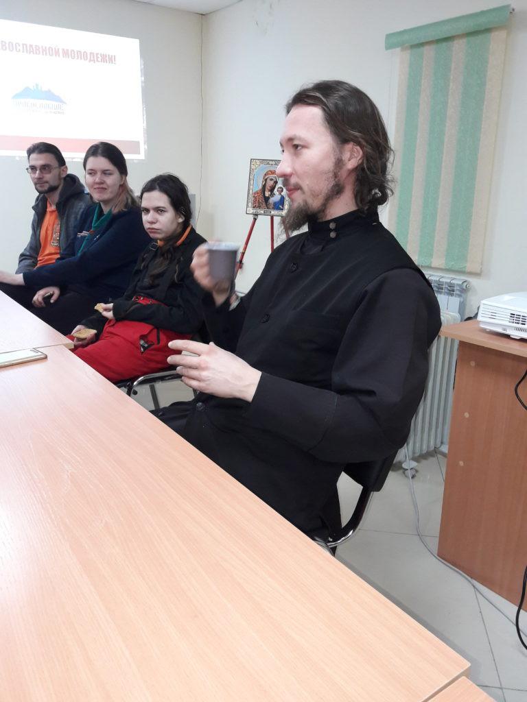 о. Александр Овчинников на Молодёжке