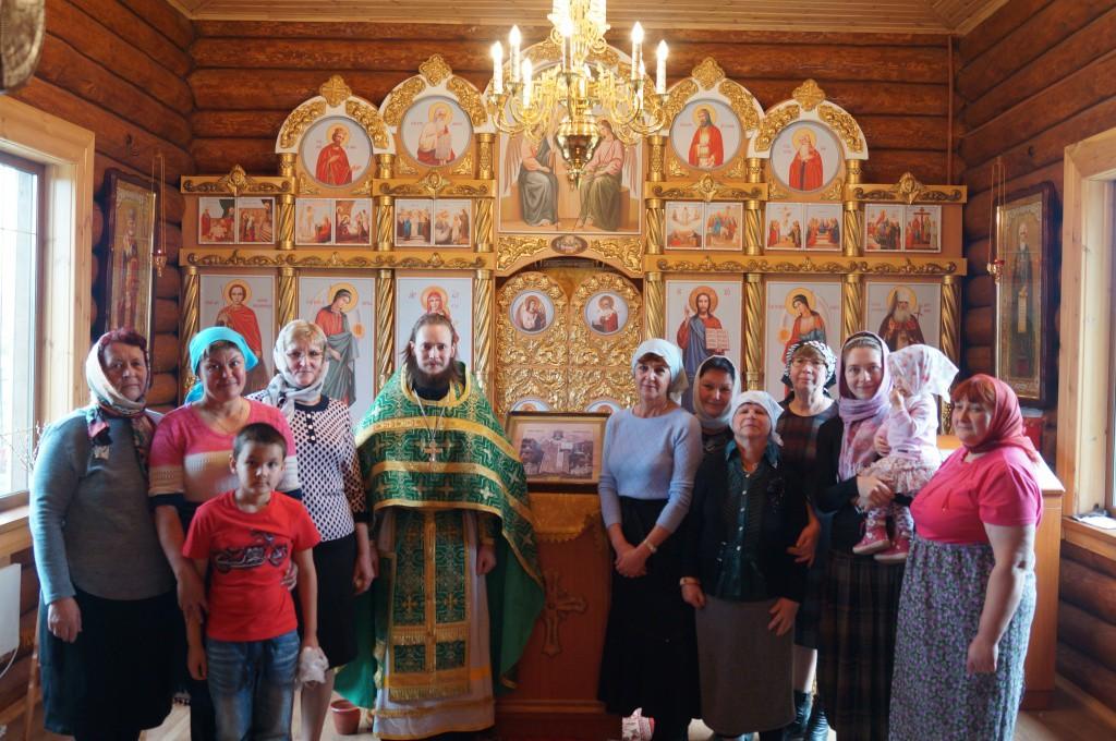 престольный праздник пос. Козыревск