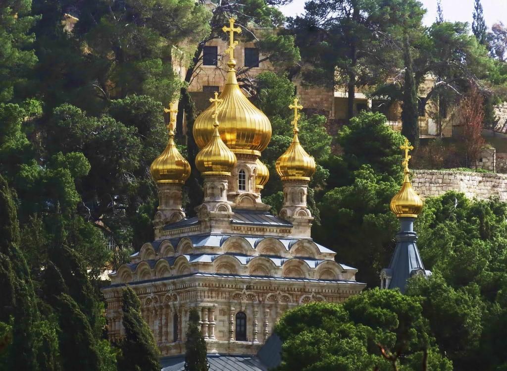 Гефсимания. Церковь святой Марины Магдалины