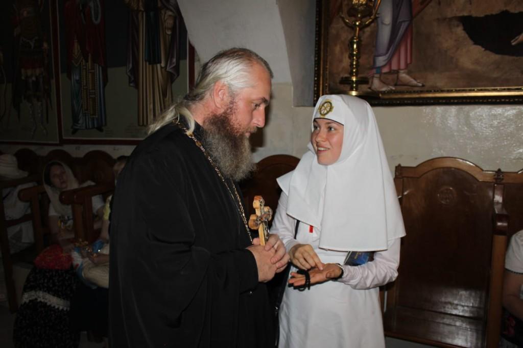 Отец Виктор с Сестрой милосердия
