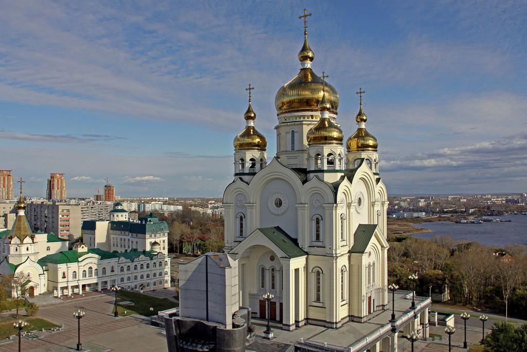Спасо-Преображенский собор Хабаровска