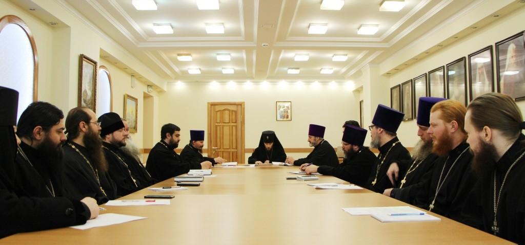 Собрание благочинных и настоятелей приходов Петропавловской и Камчатской епархии