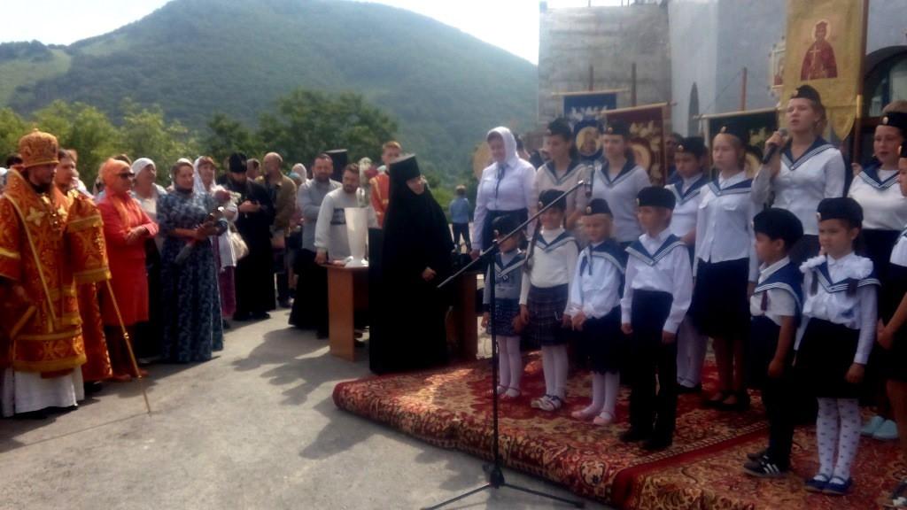 Престольный праздник Свято-Пантелеимонова монастыря 2018 год