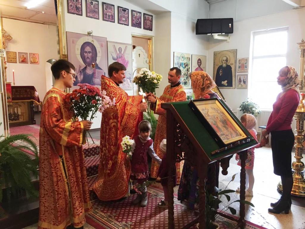 приход св. апостола Андрея Первозванного п. Рыбачий