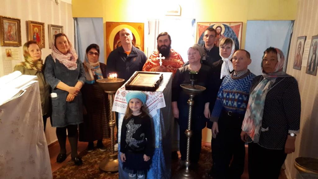 приход Казанской иконы Божией Матери п. Соболево