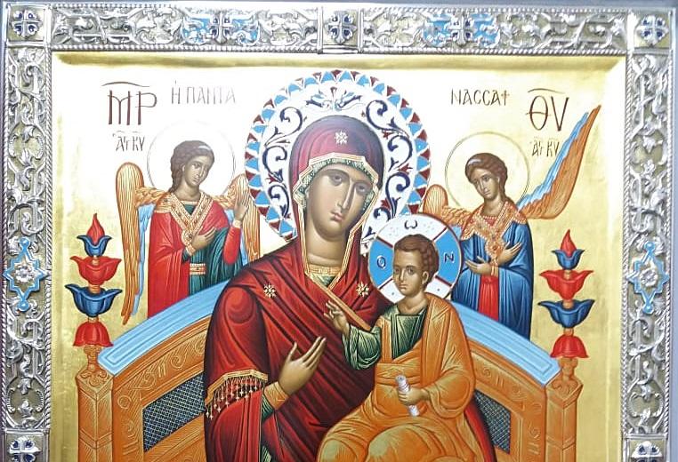 """В Морской собор со святой горы Афон будет принесена икона Божией Матери """"Всецарица"""""""