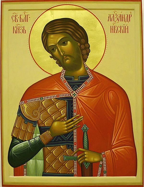 Икона-Святого-Александра