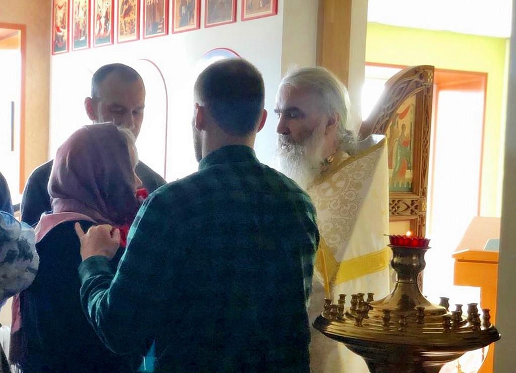 Литургия в храме 11 сентября,  в День трезвости