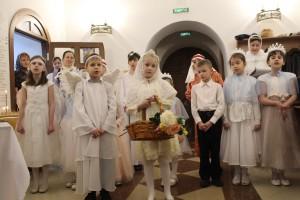 Выступление Воскресной школы Морского собора