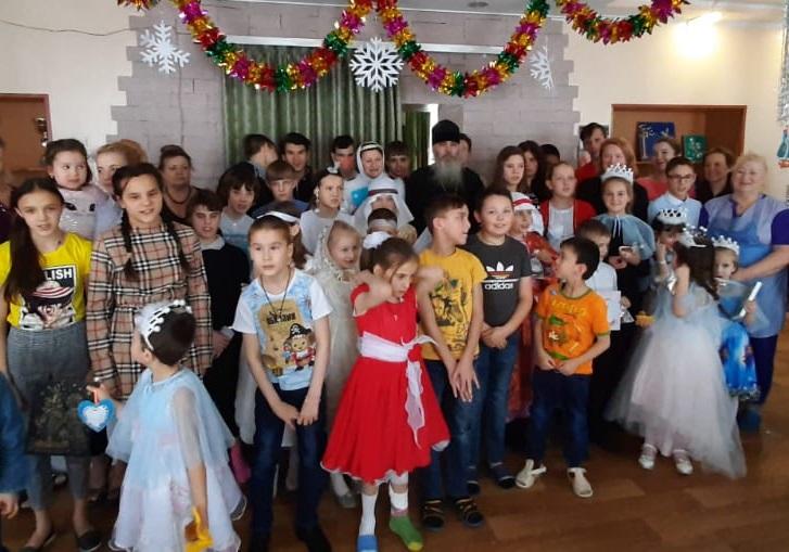 После спектакля в детском доме №3 п. Дальний