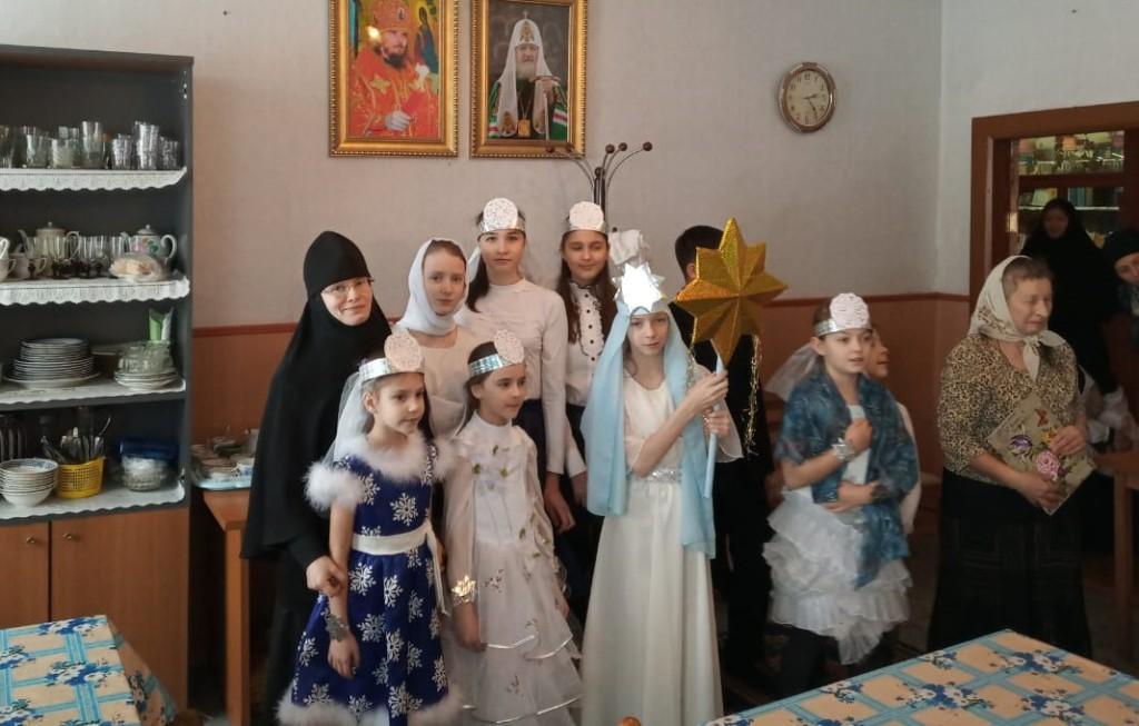 В Свято-Казанском женском монастыре