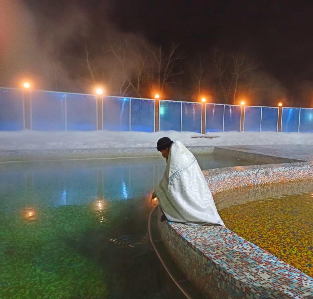 Освящение воды  п. Паратунка