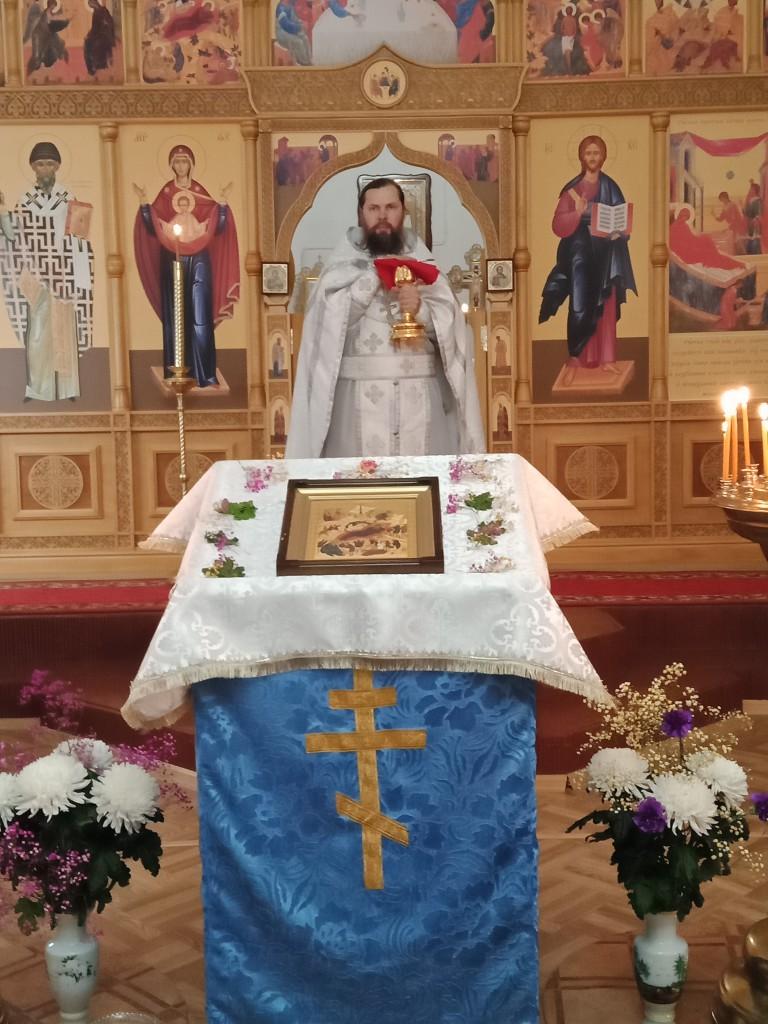 Храм Рождества Пресвятой Богородицы п. Ключи