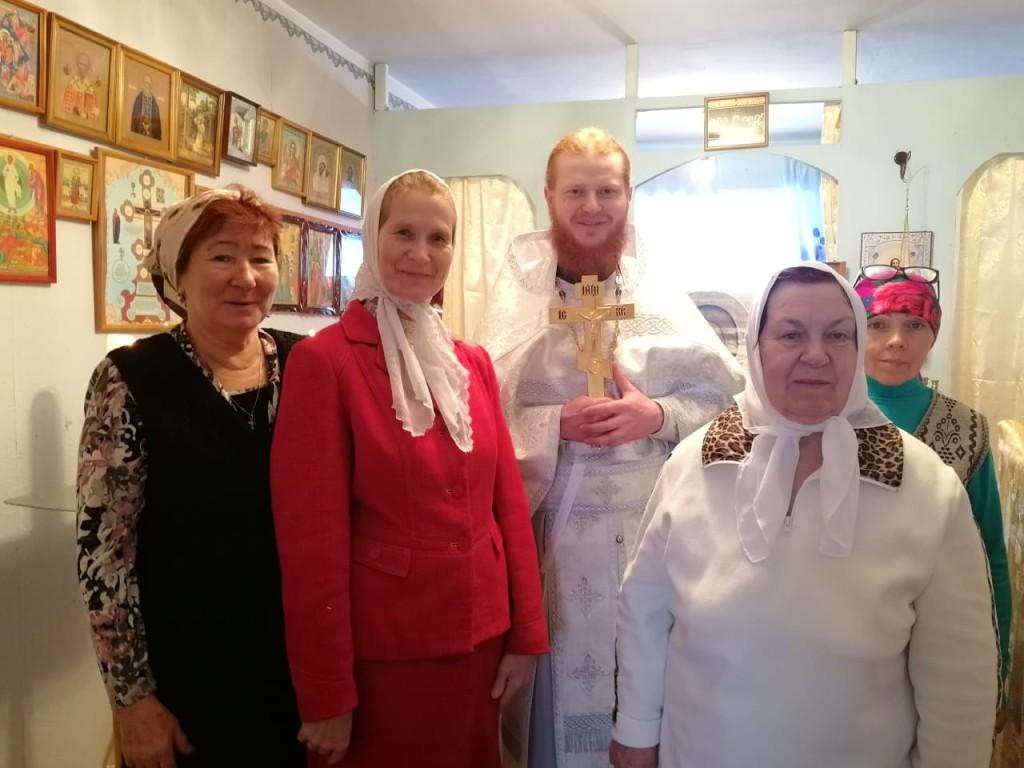 Община в честь Введения во храм Пресвятой Богородицы с. Шаромы