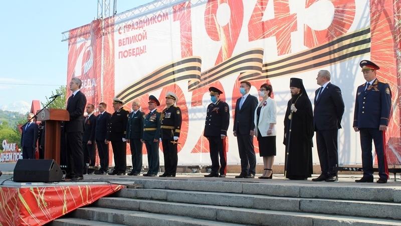На Камчатке прошло торжественное шествие в честь 75-летия Победы