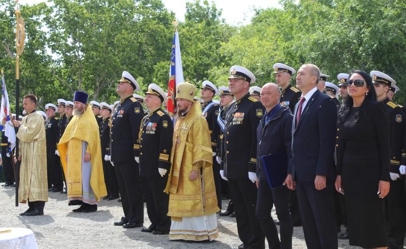 В Петропавловской и Камчатской епархии совершено освящение крестов и куполов для строящегося гарнизонного храма Подводных сил Тихоокеанского флота