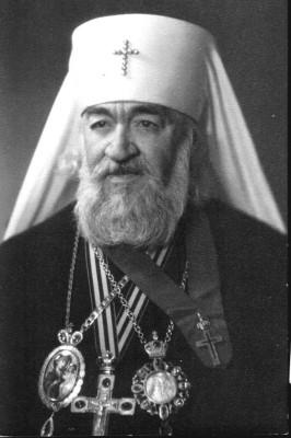 Первый епископ Камчатской епархии  - митрополит Нестор (Анисимов)