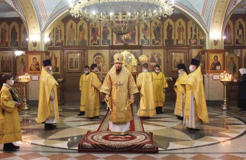 Божественная литургия в день памяти апостола и евангелиста Матфея